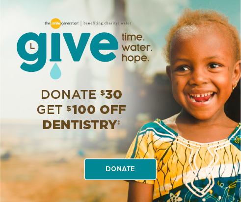 Donate $30, Get $100 Off Dentistry - Lone Tree Dentists and Orthodontics